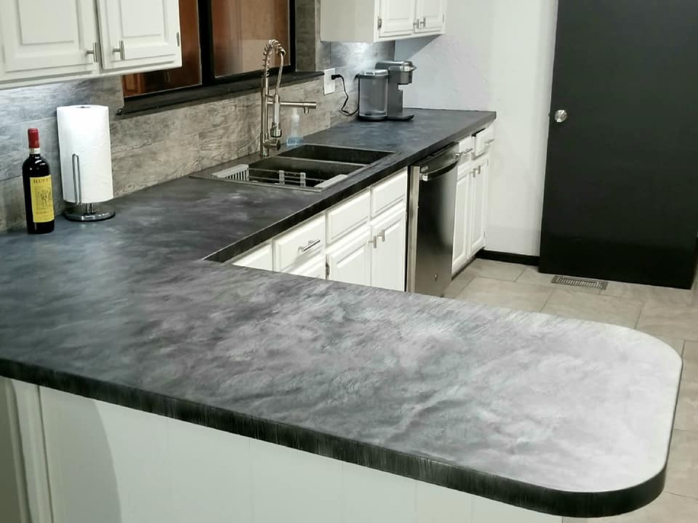 Concrete Countertops Piedmont Oklahoma City Ok Core 9 Design
